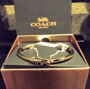 Horse & Carriage Double Cuff Bracelet